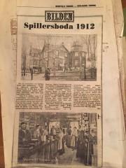 Tidningsklipp - okänt år